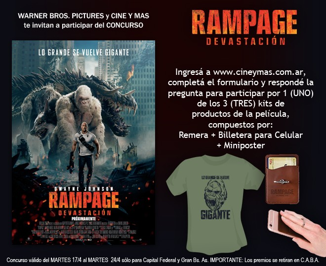 Concurso Rampage - Devastación