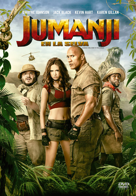 SBP Worldwide - Transeuropa - Jumanji En la Selva - Jumanji Welcome to the Jungle
