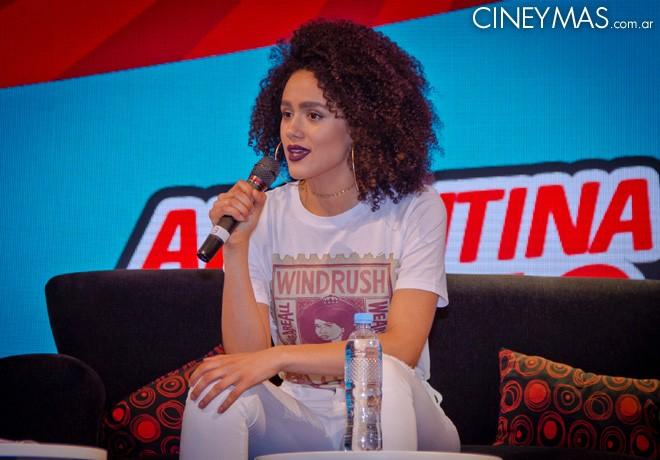 Argentina ComicCon 2018 - Nathalie Emmanuel