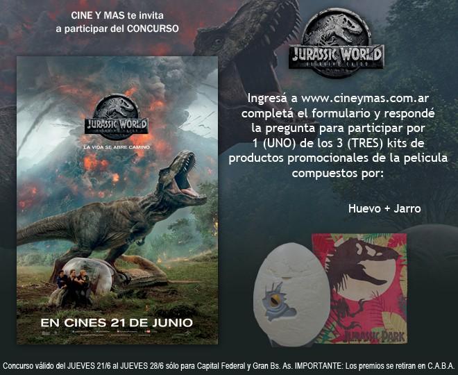 Concurso Jurassic World -El Reino Caido