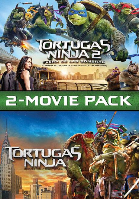 SBP Worldwide Transeuropa - Pack Duo - Tortugas Ninja - Tortugas Ninja 2 - Fuera de Sombras