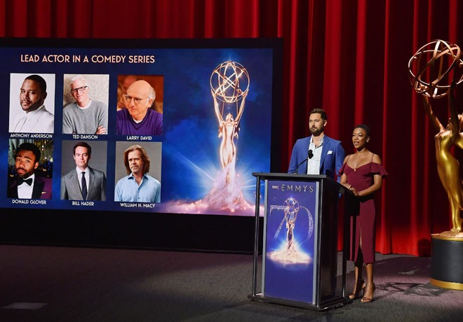 Premios Emmy - Emmy Awards - Ryan Eggold - Samira Wiley - Nominaciones - Nominations