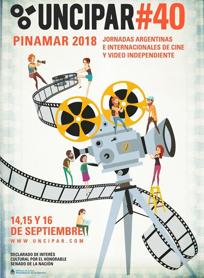 UNCIPAR - 40 Jornadas Argentinas e Internacionales de Cine y Video Independiente