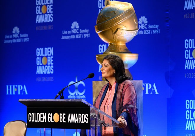 HFPA - Nominaciones GLobos de Oro - Meher Tatna