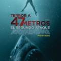 Afiche - Terror a 47 m el segundo Ataque